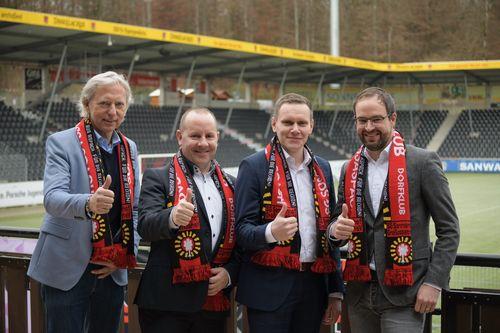 Fußball | Umbenennung in WIRmachenDRUCK Arena