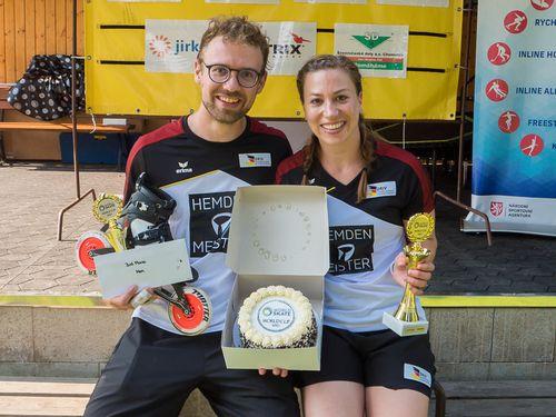 Inline Alpin   Mona Sing holt sich den Weltcup-Gesamtsieg