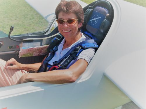 MEIN MOMENT   Cornelia Schaich: Segelflug-Weltmeisterin