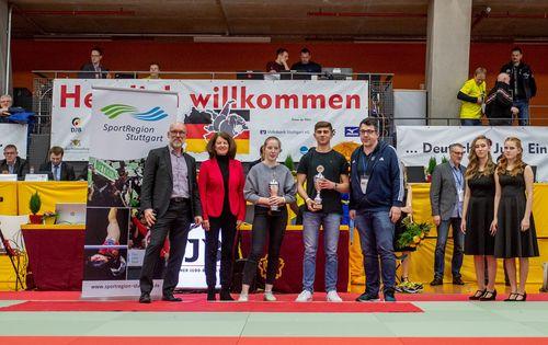 Judo | Auszeichnung für Noémie Soré und Anes Velispahic