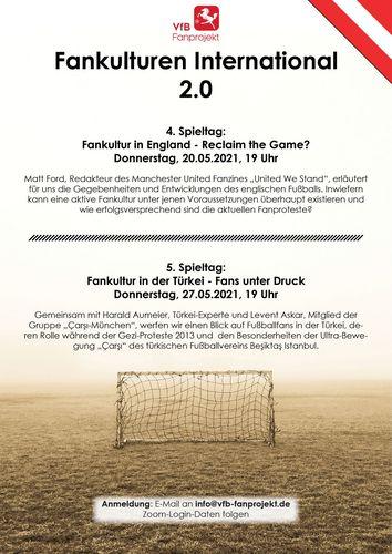 "VfB-Fanprojekt | Online-Veranstaltungsreihe ""Fankultur"""