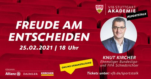 VfB Stuttgart Akademie | SPORTSTALK mit Knut Kircher