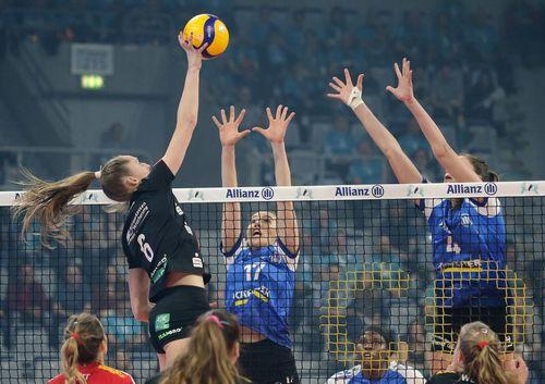Volleyball   Allianz MTV Stuttgart verliert das Pokalfinale