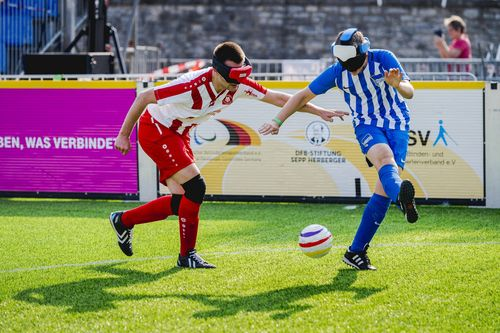 Event der Woche   Blindenfußball-Bundesliga in Stuttgart