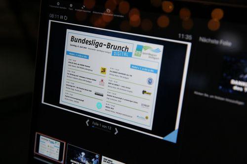 Bundesliga-Brunch 2021 im digitalen Format